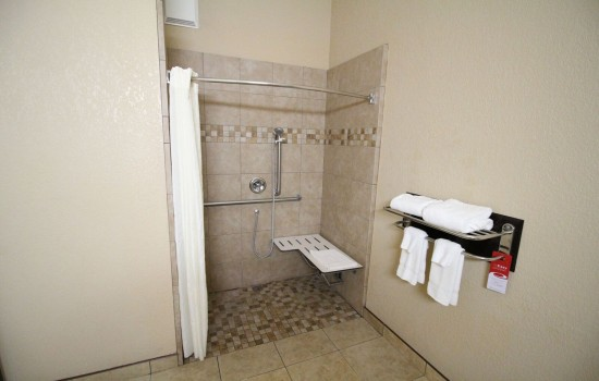 Econo Lodge Inn & Suites Fallbrook Downtown - Accessible Private Bathroom